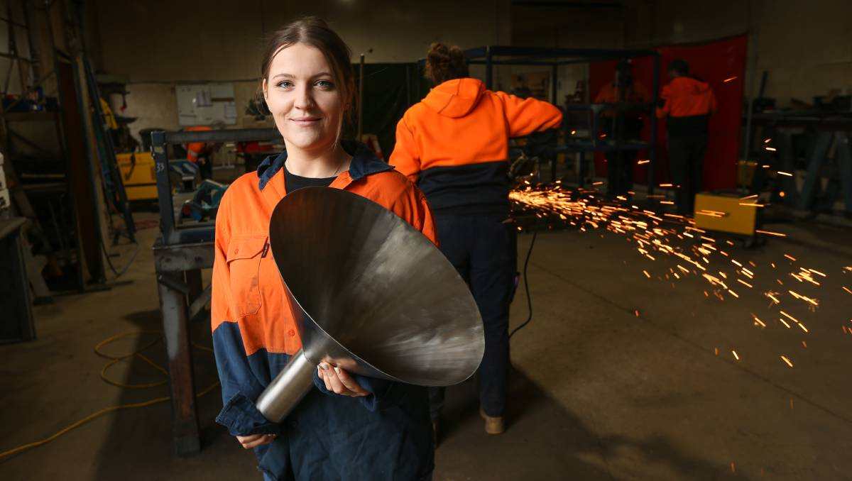 Wangaratta's Brittany Gibbs takes leap into Girls of Steel